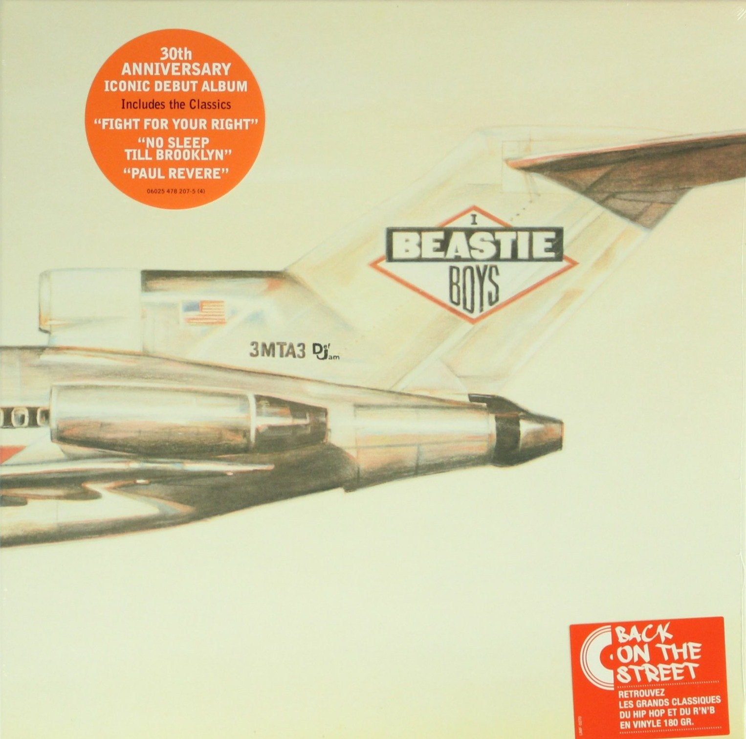 "Beastie Boys ‎– Licensed To Ill 30th Anniversary 12"" Vinyl Record, Vinyl, X-Records"