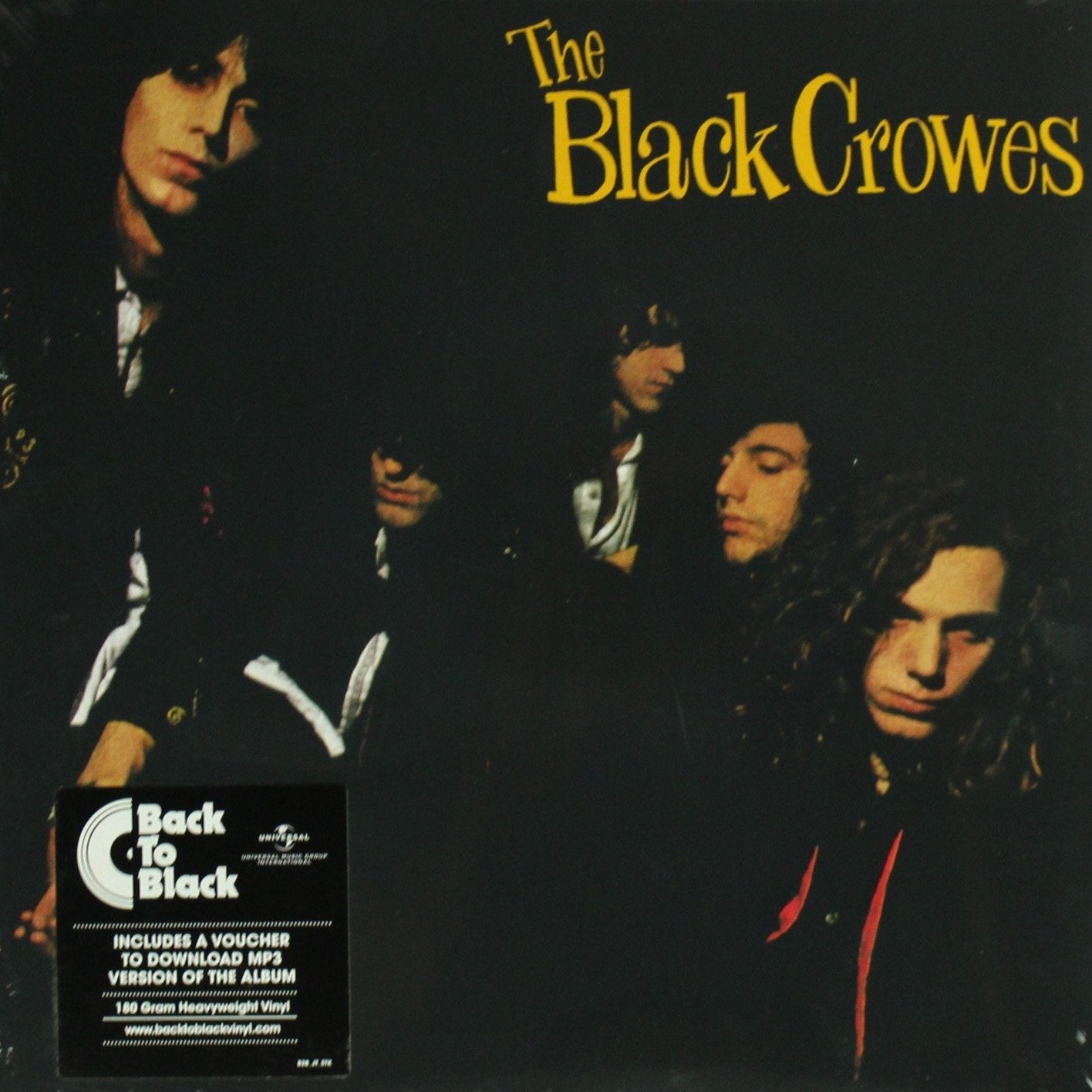 "The Black Crowes ‎– Shake Your Money Maker 180 Gram 12"" Vinyl Record Album, Vinyl, X-Records"