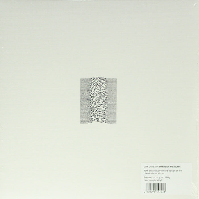 Joy Division - Unknown Pleasures 40th Anniversary Red Colour Vinyl Record Album, Vinyl, X-Records