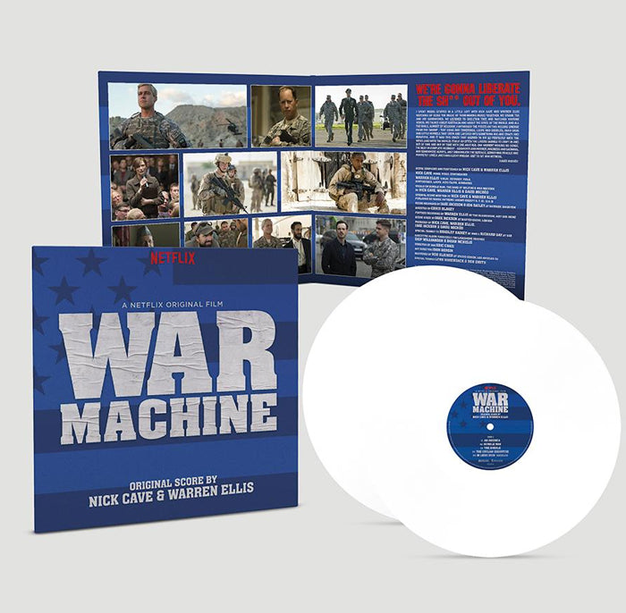 Nick Cave & Warren Ellis ‎– War Machine 2LP Vinyl Record Soundtrack, Vinyl, X-Records