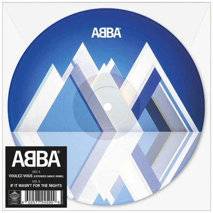 "ABBA ‎– Voulez-Vous (Extended Dance Remix) 7"" Picture Disc Vinyl Record, Vinyl, X-Records"
