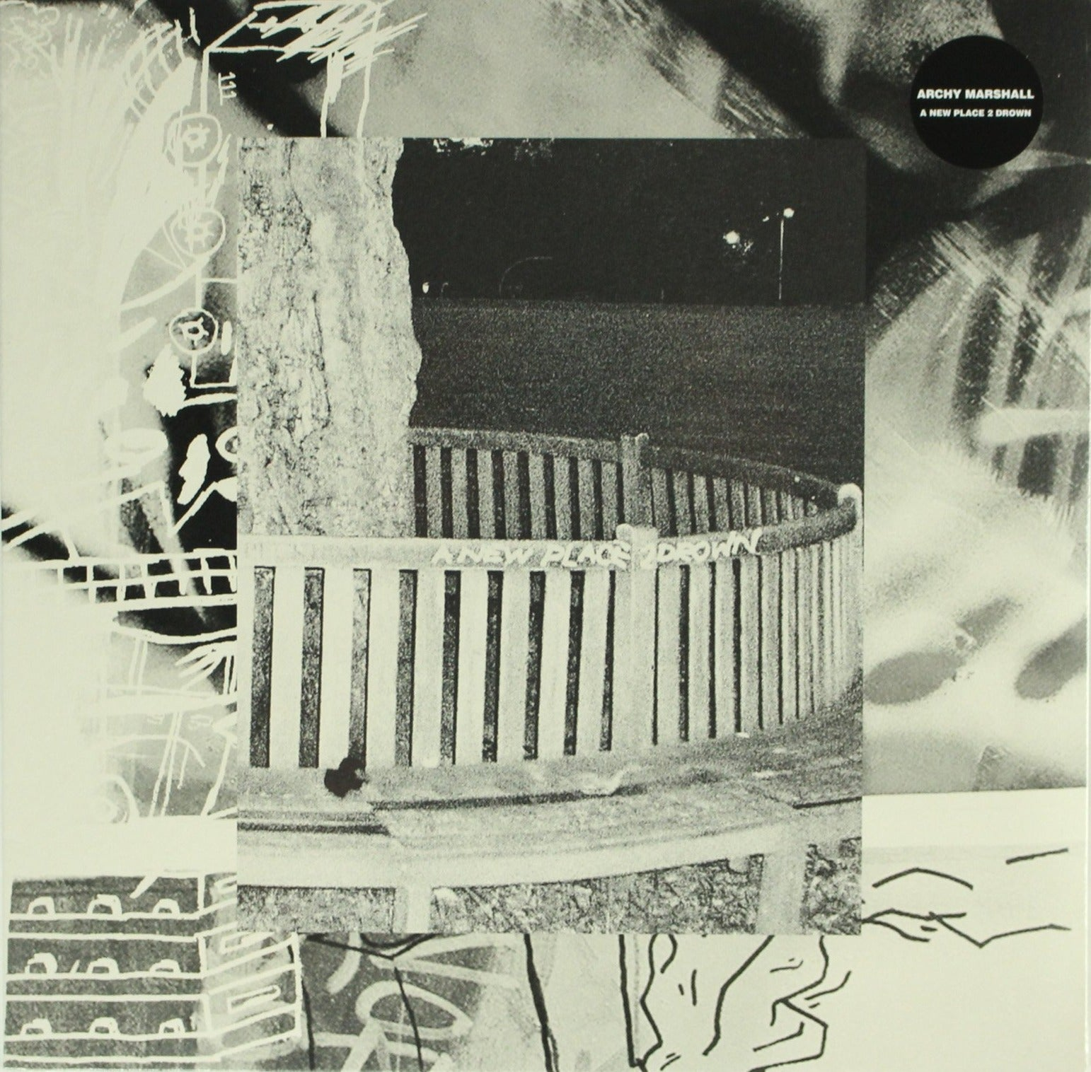"Archy Marshall ‎– A New Place 2 Drown 12"" Vinyl Record, Vinyl, X-Records"