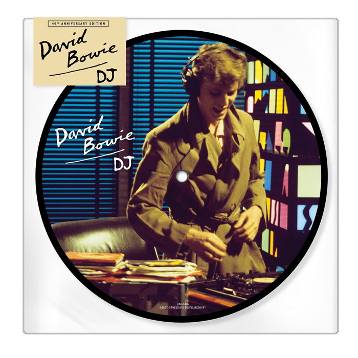 "David Bowie - D.J. 40th Anniversary 7"" Picture Disc Vinyl Record, Vinyl, X-Records"