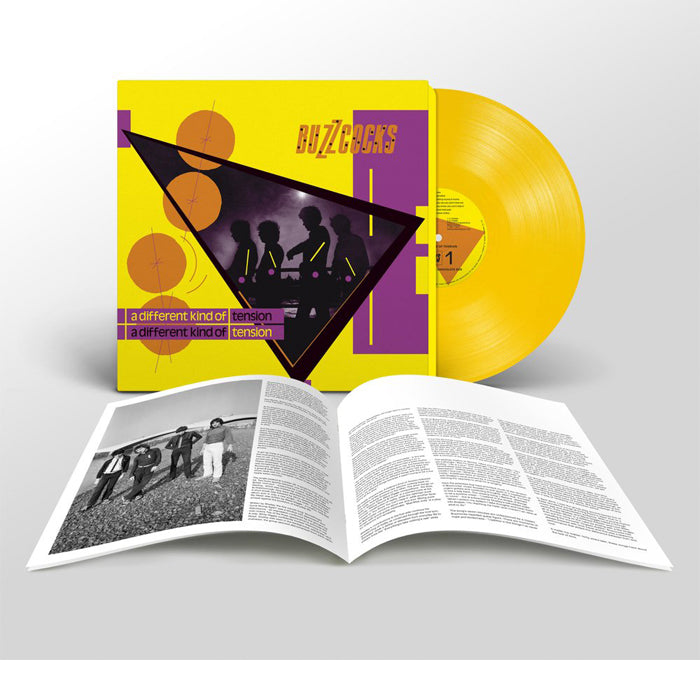 Buzzcocks - A Different Kind Of Tension 180g Yellow Colour Vinyl Record Album, Vinyl, X-Records