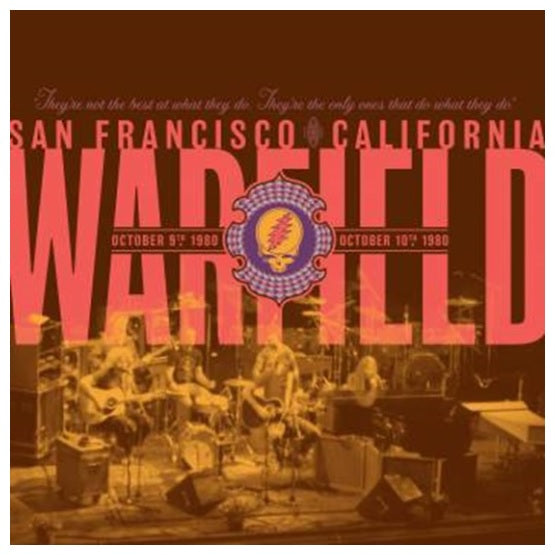 Grateful Dead ‎– The Warfield, San Francisco, CA RSD 2019 Limited Colour Vinyl Record, Vinyl, X-Records