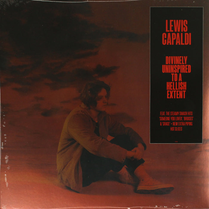 Lewis Capaldi ‎– Divinely Uninspired To A Hellish Extent Red Colour Vinyl Record, Vinyl, X-Records