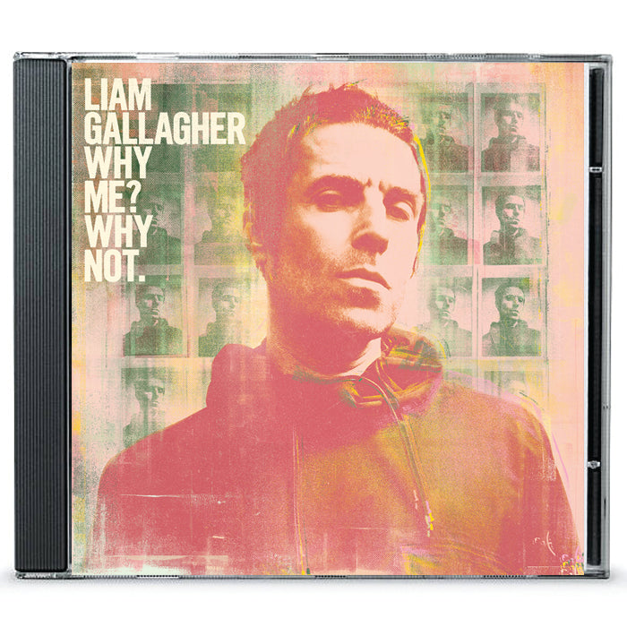 Liam Gallagher‎ – Why Me? Why not. Standard CD Album, Pre-order, X-Records