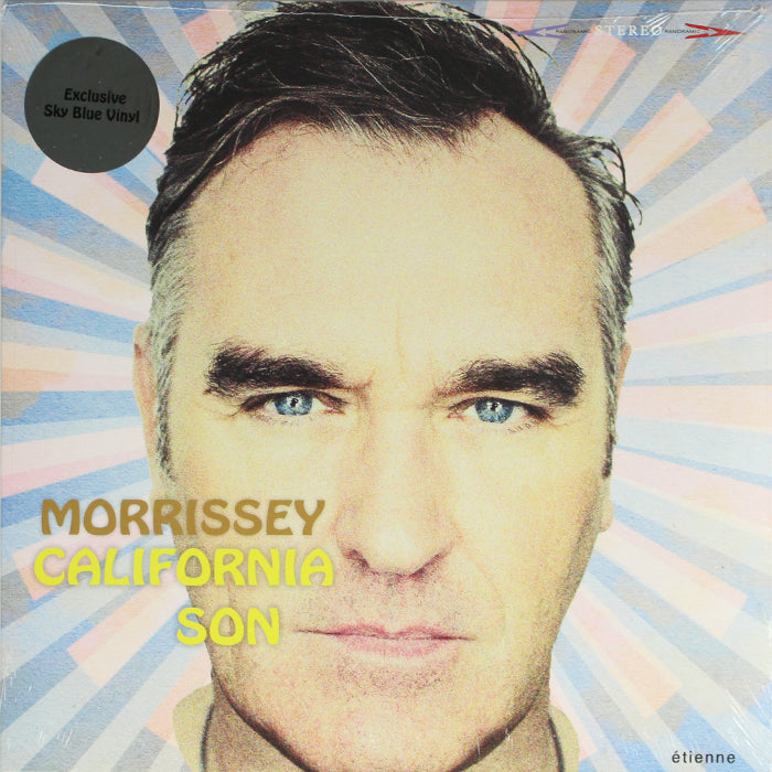 Morrissey ‎– California Son Limited Edition Sky Blue Indie Exclusive Vinyl Record Album, Vinyl, X-Records