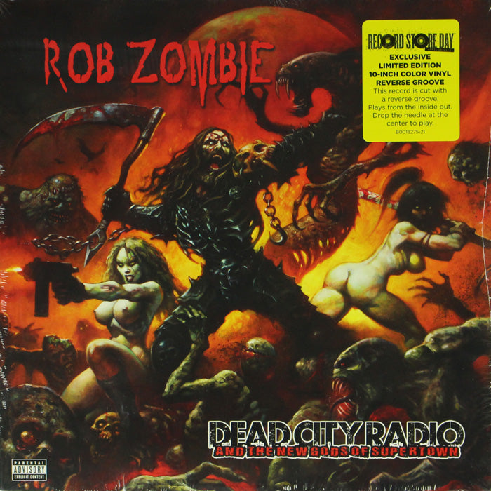 "Rob Zombie ‎– Dead City Radio And The New Gods Of Supertown 10"" Vinyl Record, Vinyl, X-Records"