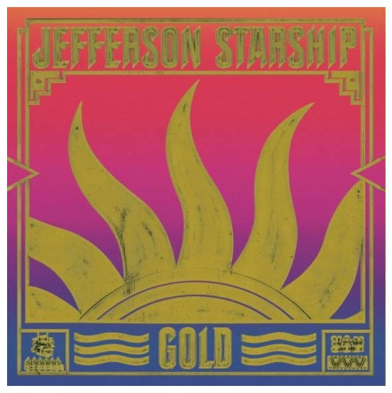 Jefferson Starship ‎– Gold RSD 2019 Limited Edition Colour Vinyl Record, Vinyl, X-Records