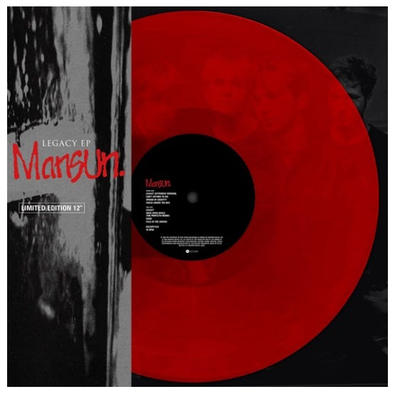 Mansun ‎– Legacy EP RSD 2019 Limited Edition Colour Vinyl Record, Vinyl, X-Records