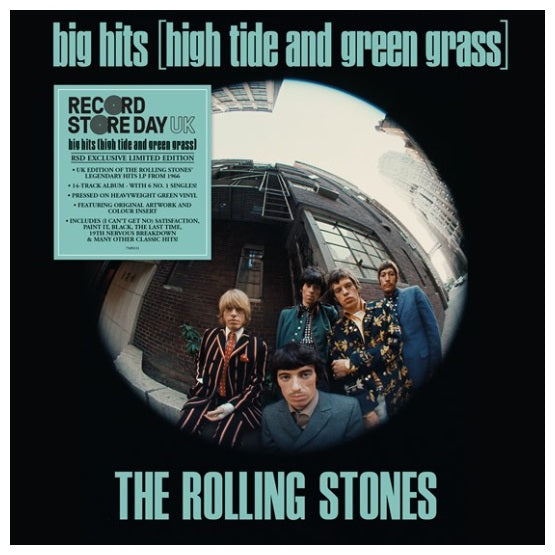 The Rolling Stones ‎– Big Hits (High Tide And Green Grass) RSD 2019 Vinyl Record, Vinyl, X-Records