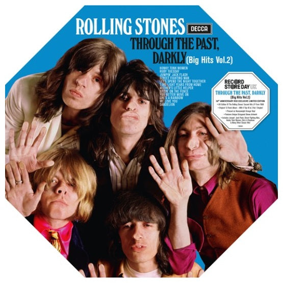 The Rolling Stones ‎– Through The Past Darkly Big Hits 2 RSD 2019 Vinyl Record, [product_type], X-Records