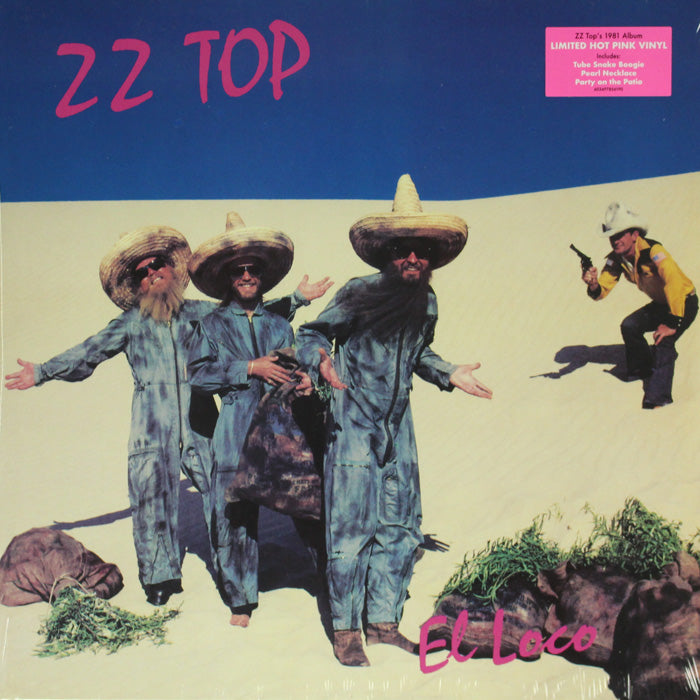 ZZ Top ‎– El Loco Limited Edition Colour Vinyl Record, Vinyl, X-Records
