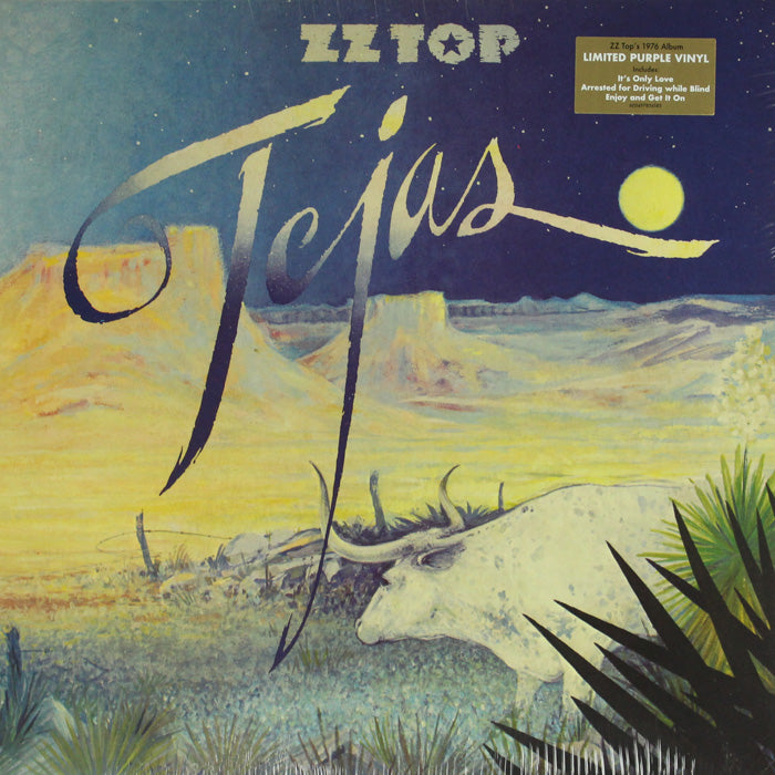 ZZ Top ‎– Tejas Limited Edition Colour Vinyl Record, Vinyl, X-Records