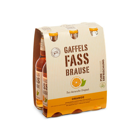 Gaffels Fassbrause Orange 6 x 0,33l