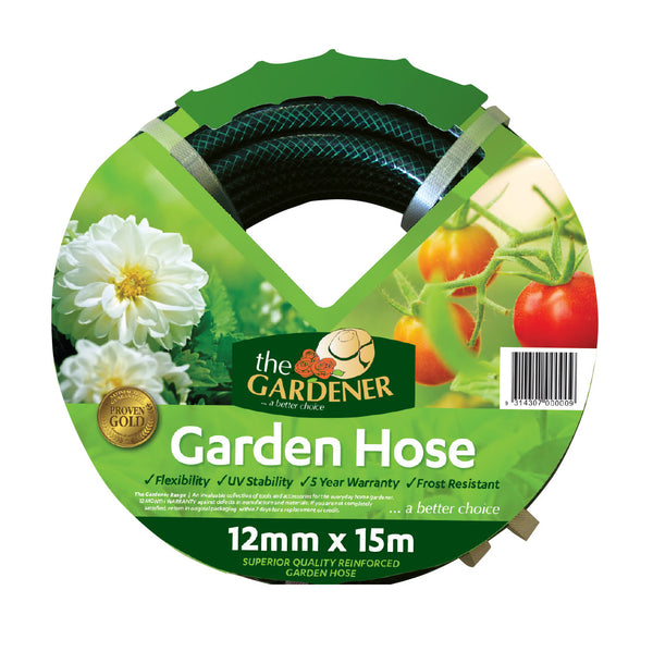 Garden Hose 12x15 unfitted