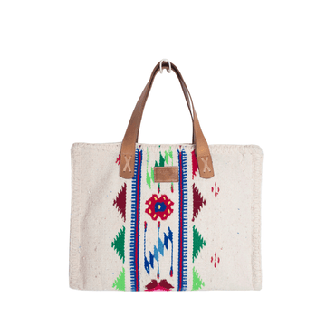 Carmen Sarape Bag Red and Green