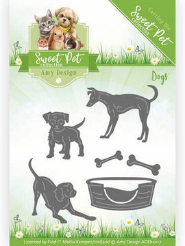 Amy Design - Dies - Sweet Pet - Dogs