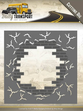 Amy Design - Dies - Daily Transport - Brick Wall