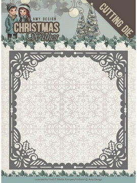 Amy Design - Dies - Christmas Wishes - Baubles Frame
