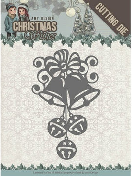 Amy Design - Dies - Christmas Wishes - Chirstmas Bells