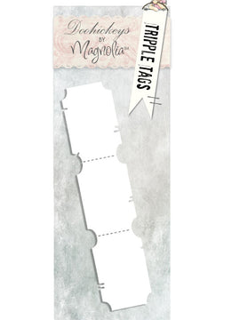 Magnolia DooHickey's Cutting Dies - Triple Tags