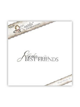 Magnolia Stamps - Animal Of The Year Collection - Forever Best Friends
