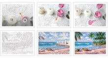 Load image into Gallery viewer, Snow Bear Painting - Paint by Numbers DIY
