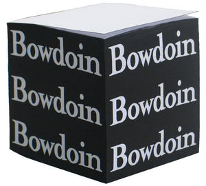 Black & White Bowdoin Note Cube