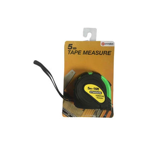 5m Tape Measure With Rubber Cover