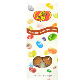 10 Jelly Belly Tealights Marshmallow