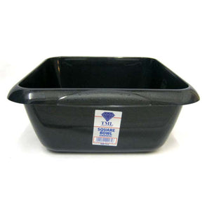 Square Washing Up Bowl Graphite