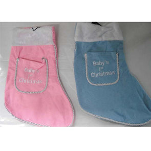 Baby 1st Christmas Stocking