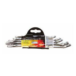 Combination Spanner Set 5 Pieces