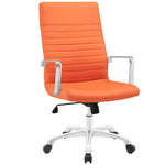 ESTHER HIGHBACK OFFICE CHAIR IN ORANGE