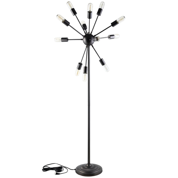 BLOOM FLOOR LAMP IN BLACK