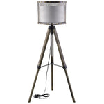 TRIXIE FLOOR LAMP IN ANTIQUE SILVER