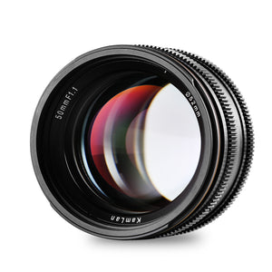 50mm F/1.1 MF, Bokeh Master