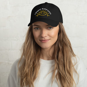 Choose Happiness Hat - Black