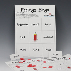 Feelings Bingo