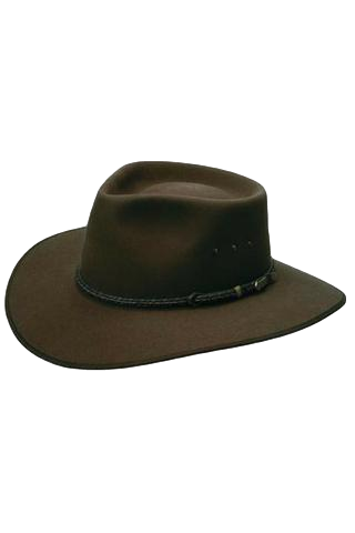 AKUBRA HAT CATTLEMAN FAWN - Workin' Gear