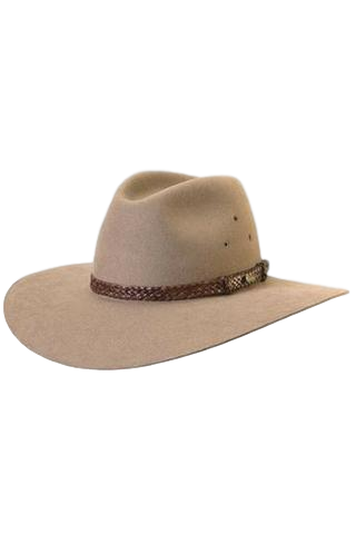 AKUBRA HAT RIVERINA SAND - Workin' Gear