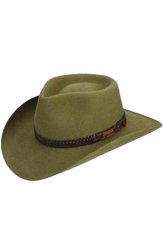 AKUBRA HAT  SNOWY RIVER SANTONE - Workin' Gear