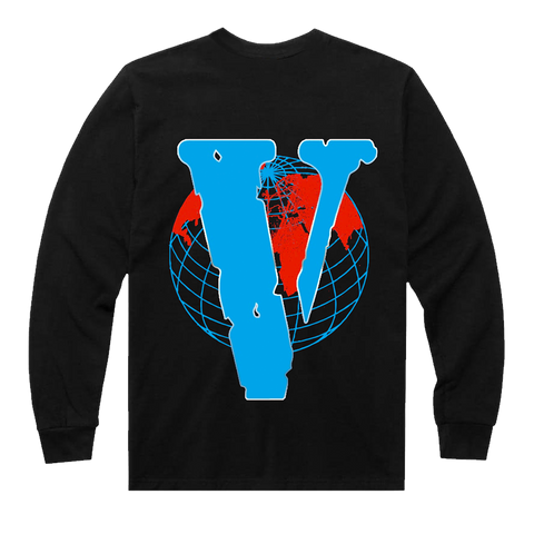 999 x VLONE VWRLD Longsleeve (Blue) + Digital Album