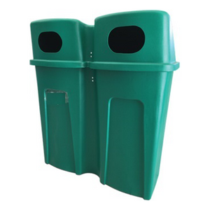 240L Dual Compartment Refuse Bin