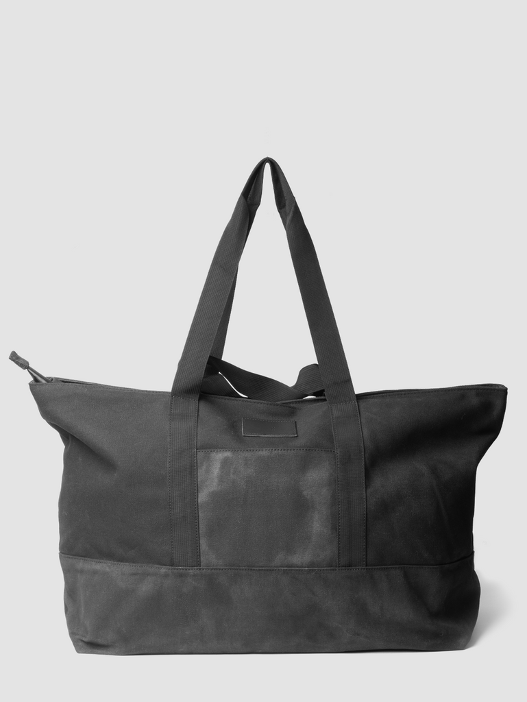 Oak Hancock Travel Tote in Black by Oak