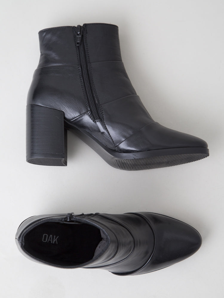Load image into Gallery viewer, Lawton Boot in Black Leather by Oak
