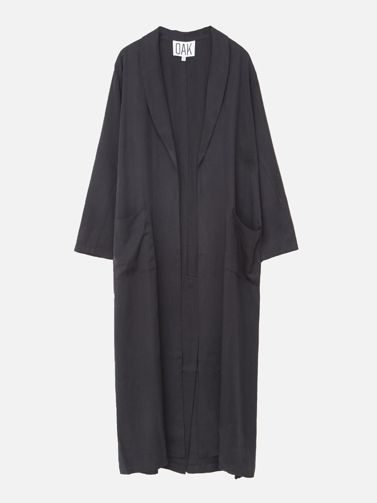 Load image into Gallery viewer, Robe Trench in Black by OAK