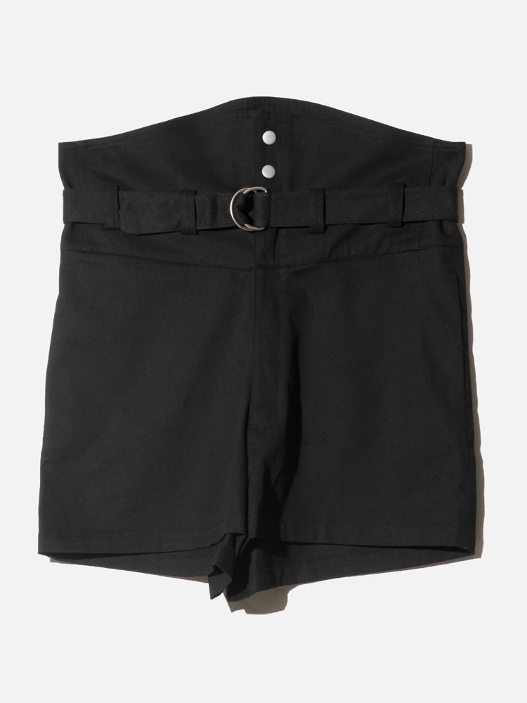 Load image into Gallery viewer, OAK Belted Short in Black